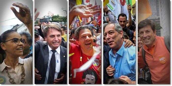 presidenciáveis arrecadaram vaquinhas virtuais bolsonaro amoedo haddad eleições
