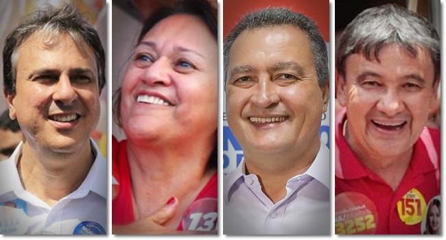 PT partido mais governadores 2018