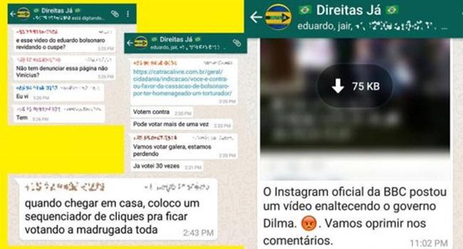 TSE liberou Bolsonaro campanha eleitoral sórdida história fake news mentiras boataria