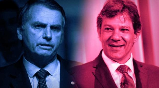 últimas pesquisas Ibope e Datafolha bolsonaro haddad eleições 2018