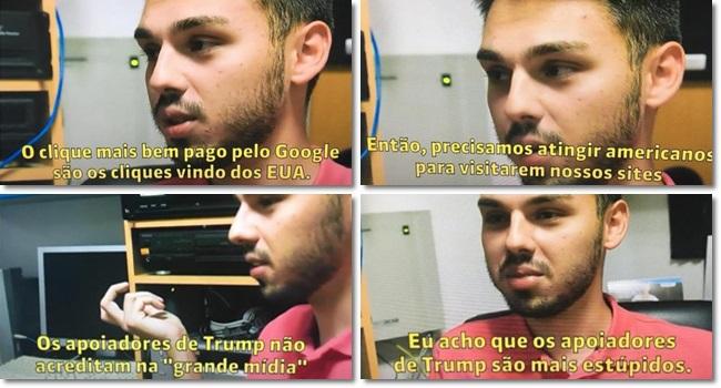 Veles Boy lição aos eleitores brasileiros fake news bolsonaro trump redes sociais