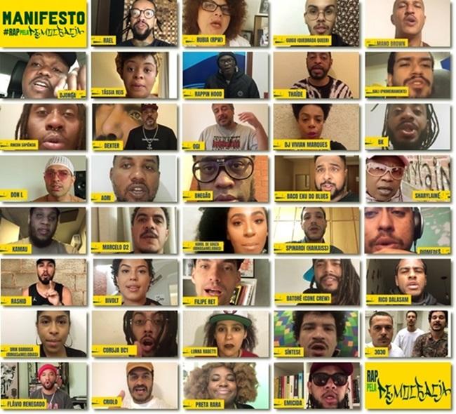 Vídeo do movimento Hip Hop contra Jair Bolsonaro eleições democracia negros pobres favela