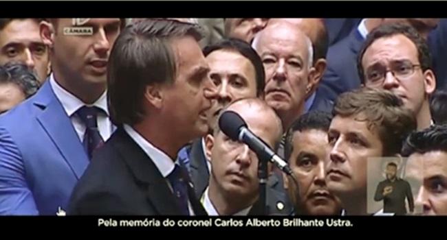 vídeo ídolo de Bolsonaro Carlos Alberto Brilhante Ustra eleições