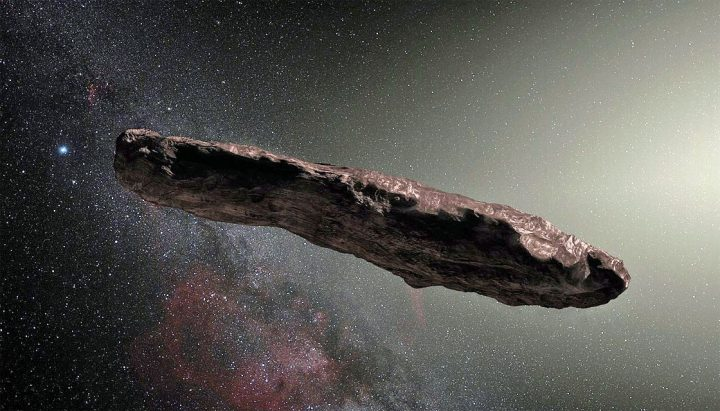 objeto interestelar Oumuamua