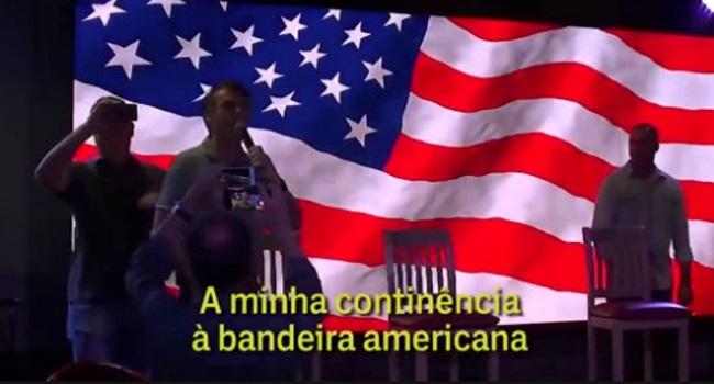 antinacionalismo dos militares que circundam Bolsonaro