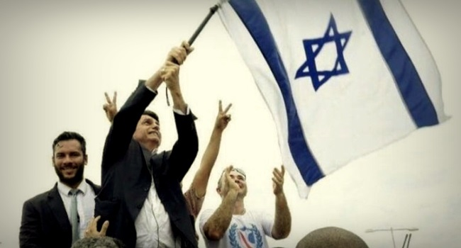 Bolsonaro vai transferir embaixada do Brasil de Tel Aviv para Jerusalém