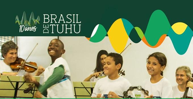 Brasil de Tuhu Mapeamento Nacional Projetos Educação Musical