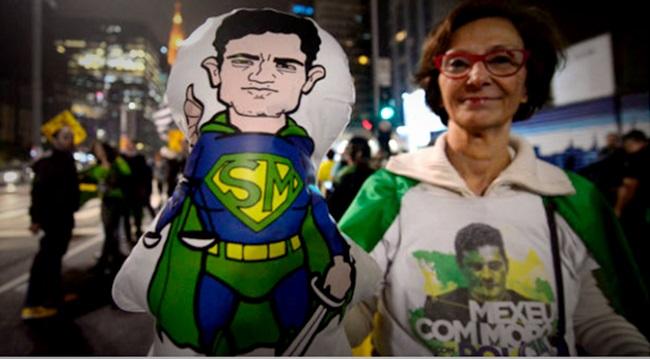 pouco tempo futuro ministro Sergio Moro estará nu justiça corrupção