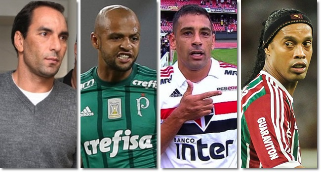 estrelas do futebol apoiaram Jair Bolsonaro gaúcho