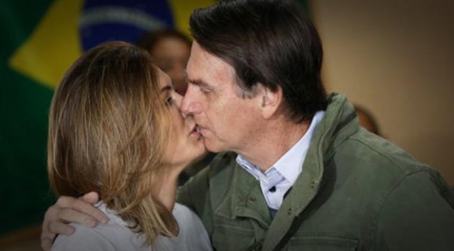 Michelle e Jair Bolsonaro outro