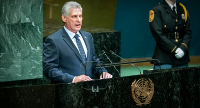 ONU países EUA Israel embargo a Cuba