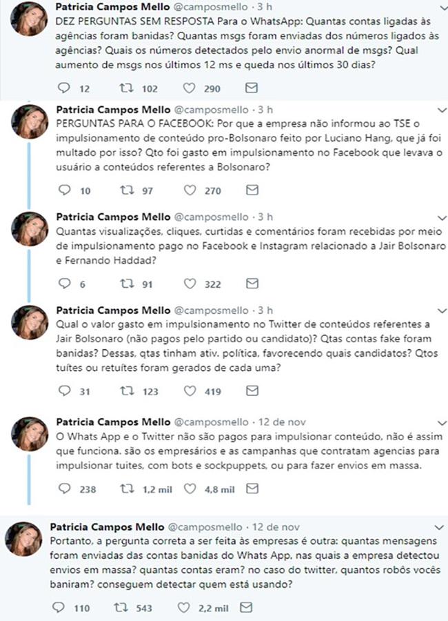 perguntas sem resposta sobre as redes sociais de Bolsonaro