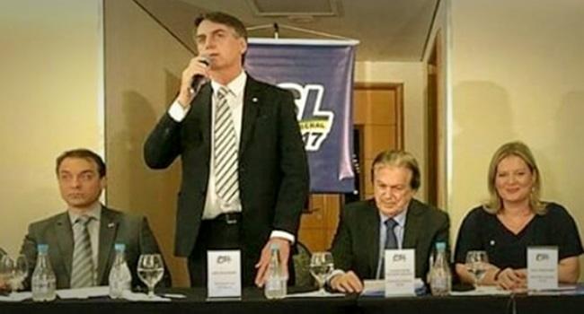 Questão ideológica grave corrupção Bolsonaro psl