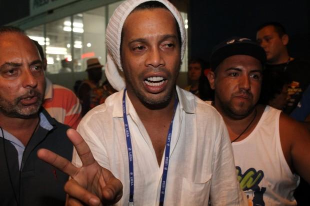 Ronaldinho Gaúcho passaporte