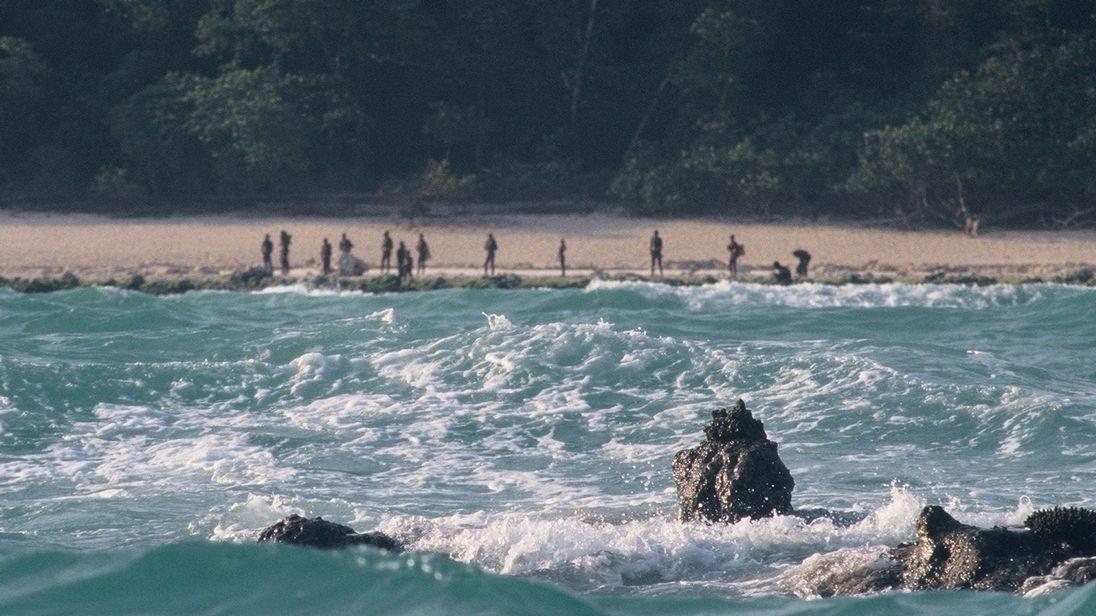 ilha isolada missionário EUA