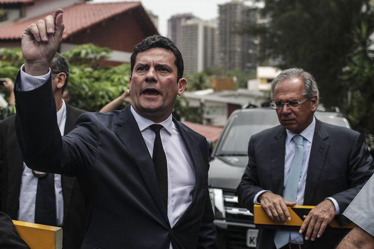 Sergio Moro Paulo Guedes Bolsonaro