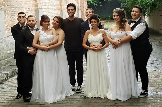 Casais LGBT mobilizam casar 2018