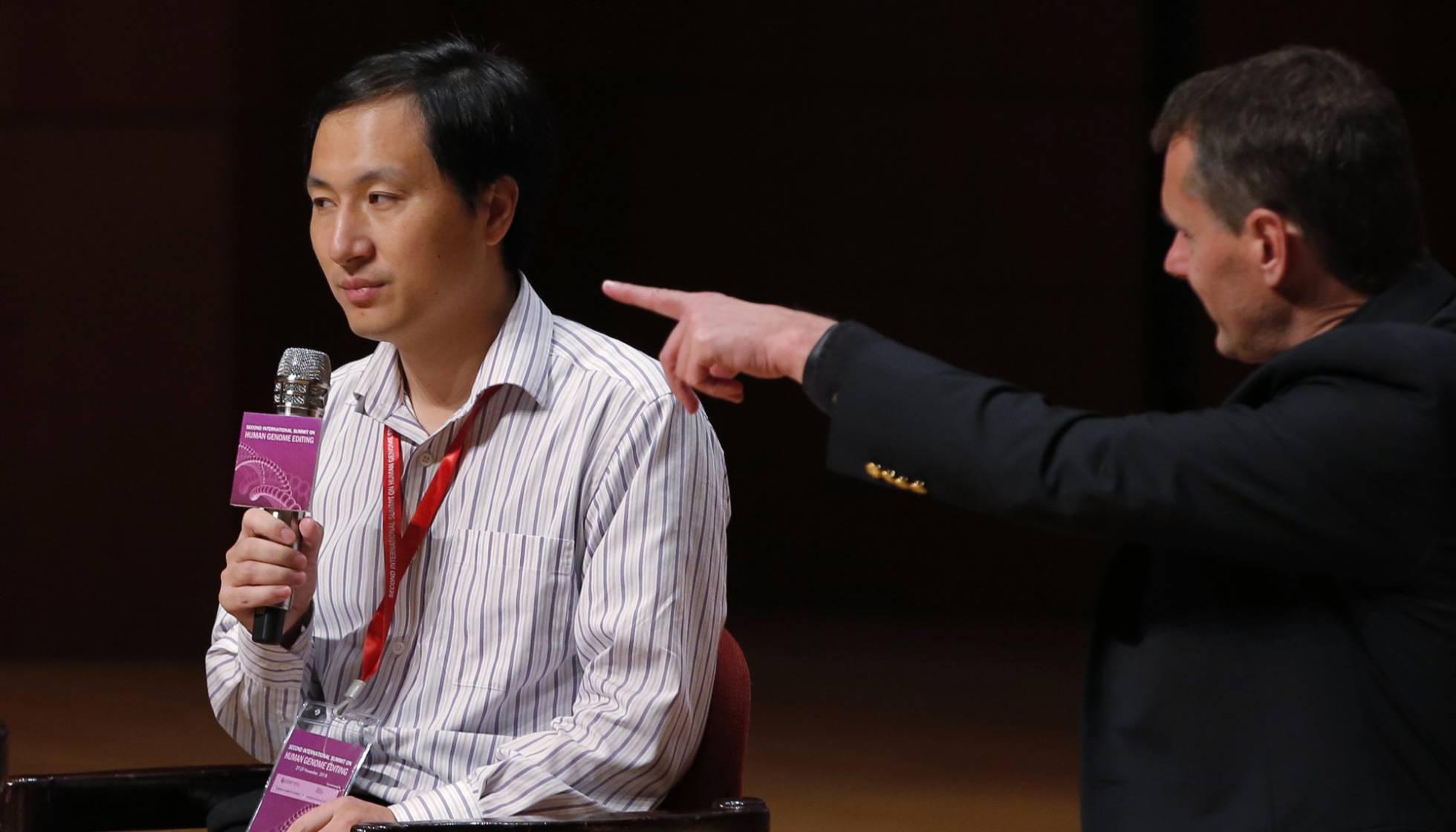 cientista chinês genes bebês