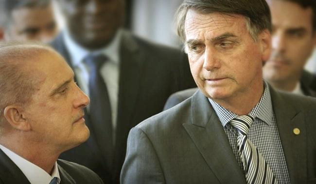 Confusão Onyx Lorenzoni Bolsonaro vítima da própria burrice