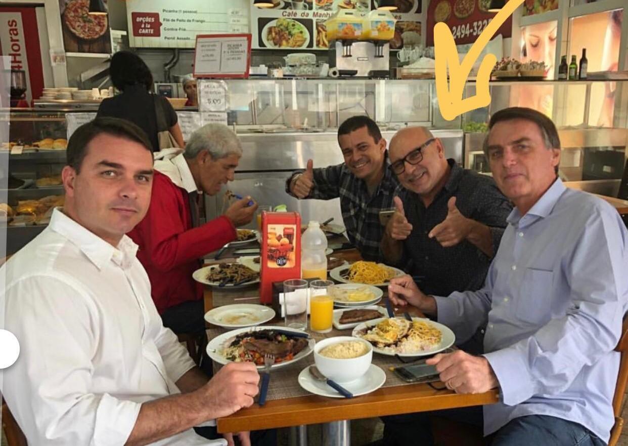 Fabrício Queiroz família bolsonaro