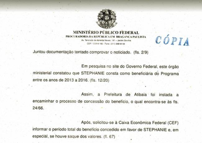 Filho de Olavo de Carvalho foi aprovado no Bolsa Família
