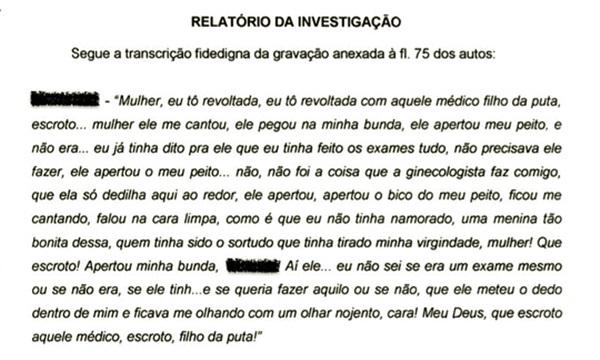 ginecologista abusava de mulheres amigo promotor Piauí