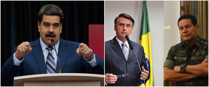 Maduro Bolsonaro Mourão