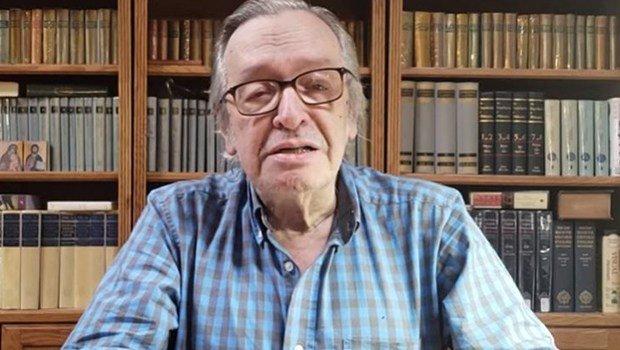 Olavo de Carvalho, guru-político de Jair Bolsonaro