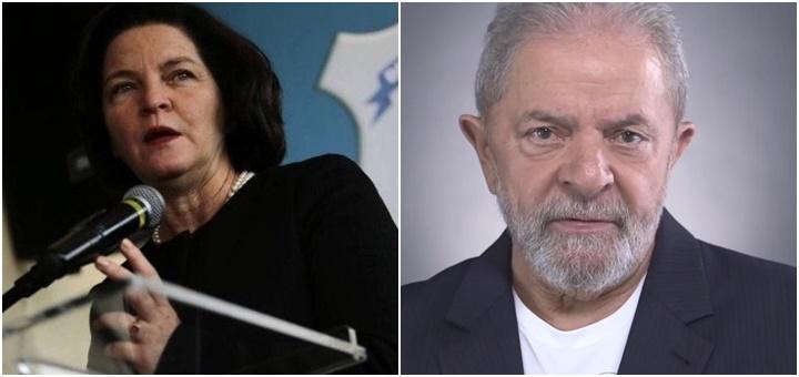 Raquel Dodge e Lula solto