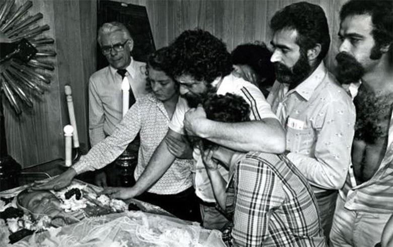Lula ditadura enterro da mãe