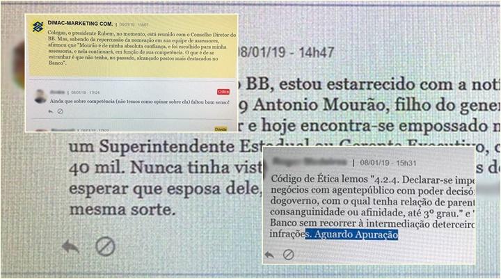 funcionários do banco do brasil