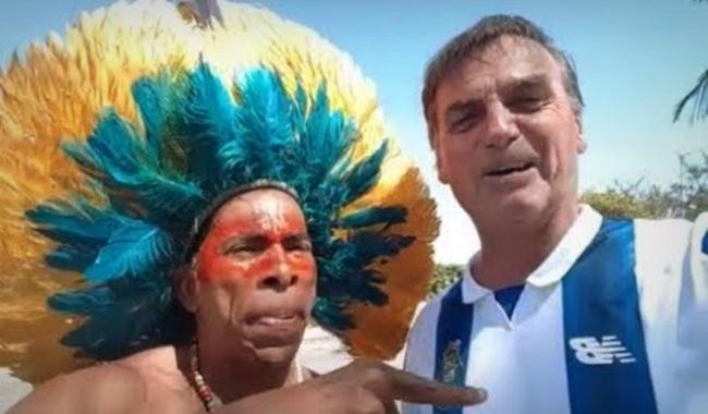 Bolsonaro índios Brasis muitas verdades