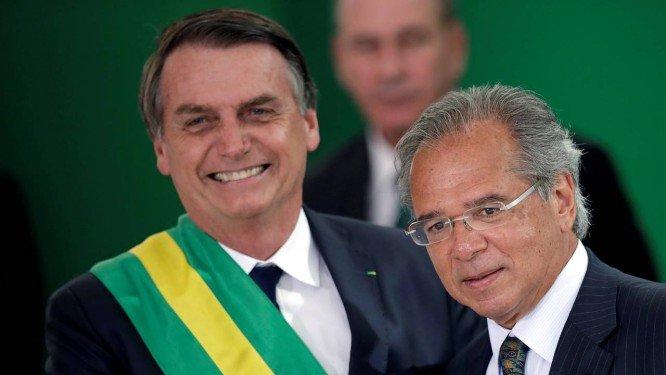 Bolsonaro Paulo Guedes economia