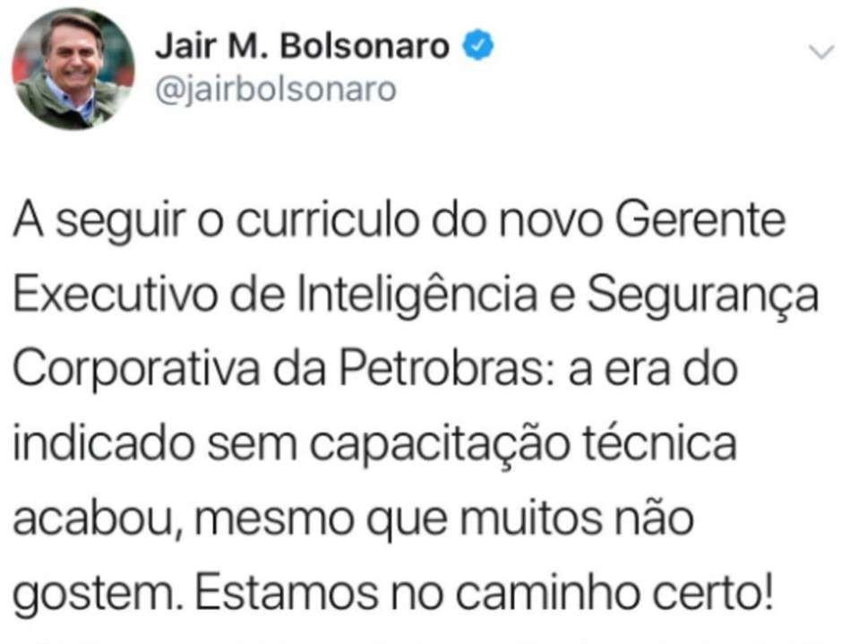 bolsonaro twitter nagem