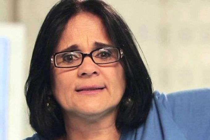 ministra Damares Alves pé de goiaba