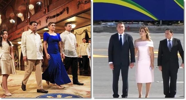Duterte a Bolsonaro ultradireitistas povoam mapa mundi