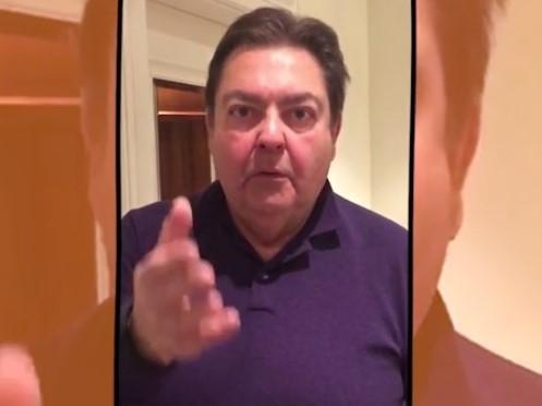 faustão imbecil frase Bolsonaro