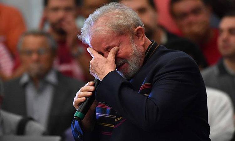 Lula irmão Vavá velório
