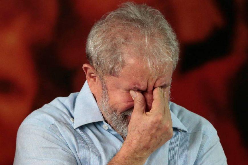 Lula chora irmão vavá