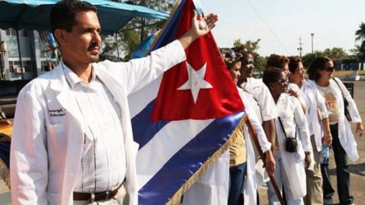 médicos cubanos no Brasil Bolsonaro