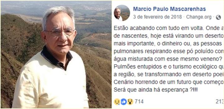 pousada Marcio Paulo Barbosa Pena Mascarenhas