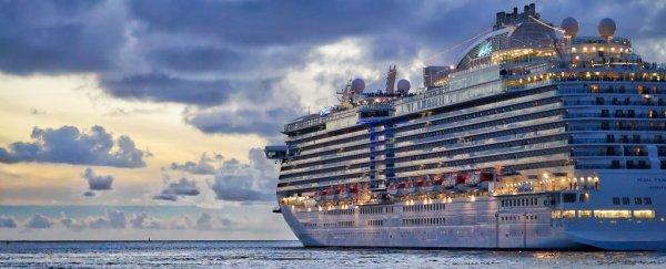 terraplanista navio cruzeiro