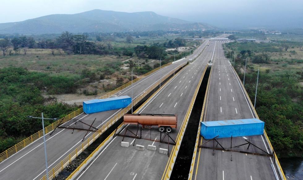 ajuda humanitária venezuela eua