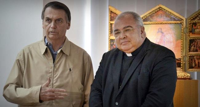 Arcebispo campanha pró-Bolsonaro valores cristãos denunciado Cabral