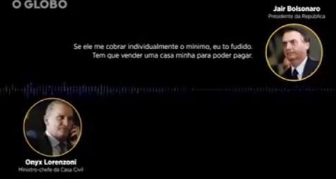 vaza áudio bolsonaro onyx bebianno