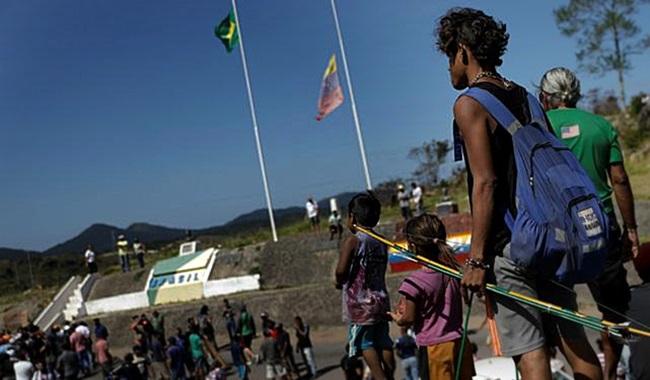 aventura de Bolsonaro Venezuela ajuda humanitária desnudada EUA