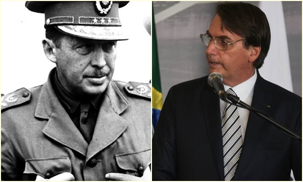 jair bolsonaro ditador Alfredo Stroessner