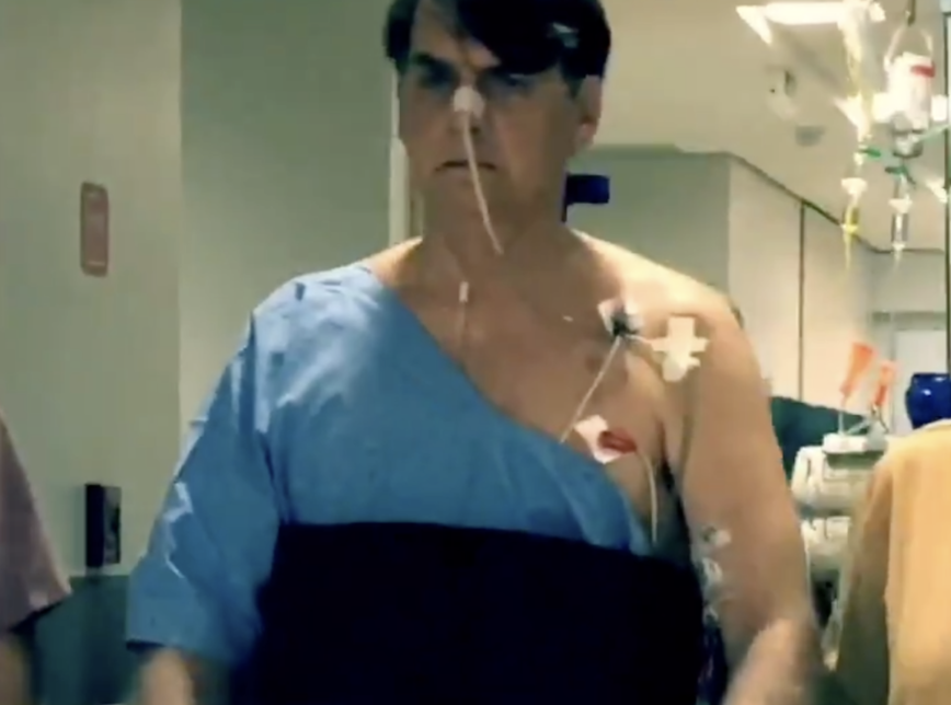 Jair Bolsonaro boletim médico pneumonia