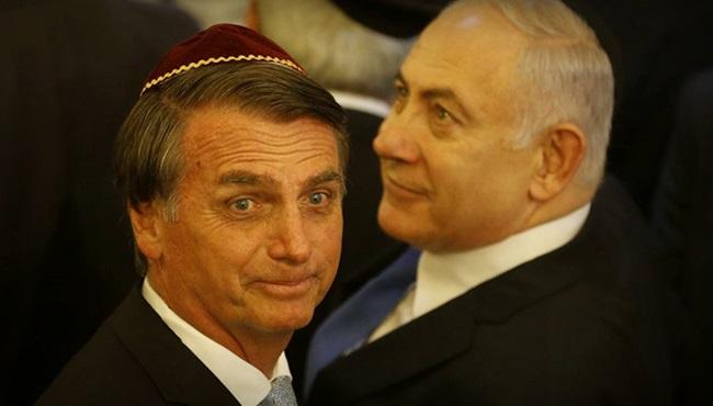Bolsonaro não mudou embaixada para Jerusalém Israel