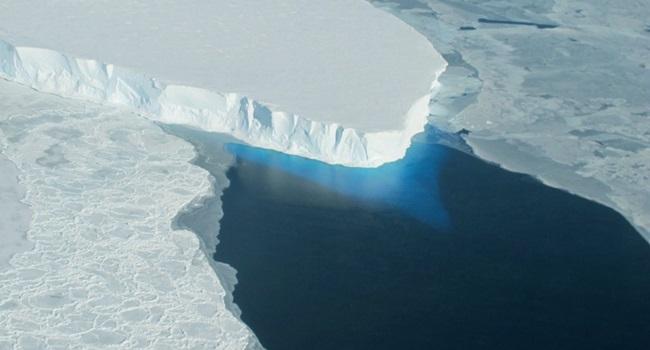 Cientistas buraco gigantesco Antártica perturbador Thwaites